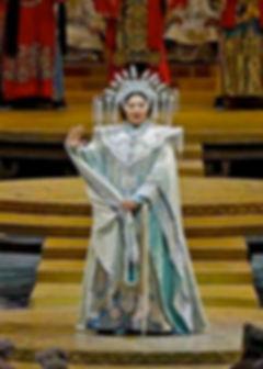 Christine Goerke as Turandot | Metropolitan Opera (Marty Sohl)