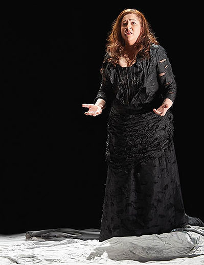 Christine Goerke as Brünnhilde in Siegfried | Canadian Opera Company (Michael Cooper Photography)