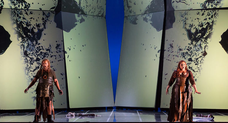 Christine Goerke as Brünnhilde in Siegfried | Houston Grand Opera (Lynn Lane)