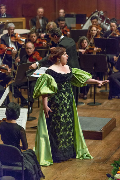 Christine Goerke performs at the 2015 Richard Tucker Foundation Gala