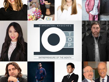Jason Cherubini Named a Top 10 Entrepreneur