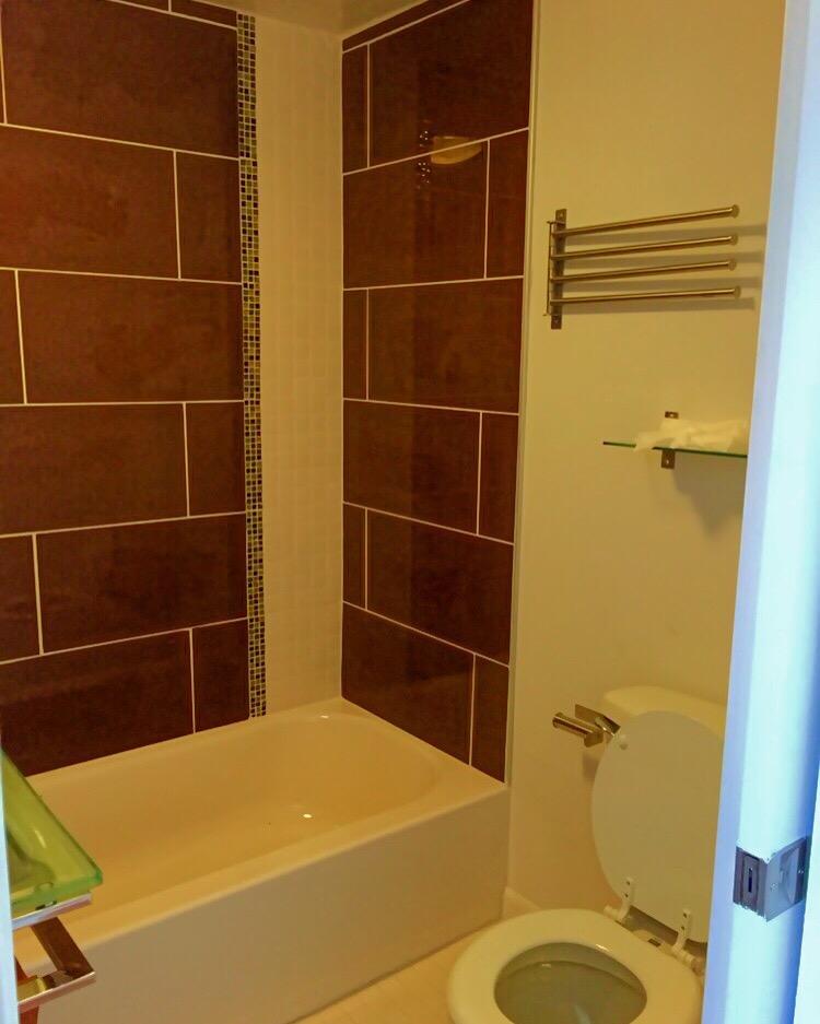 Maximized Tiny Bathroom