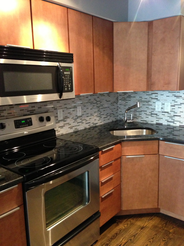 Newly Designed Kitchen