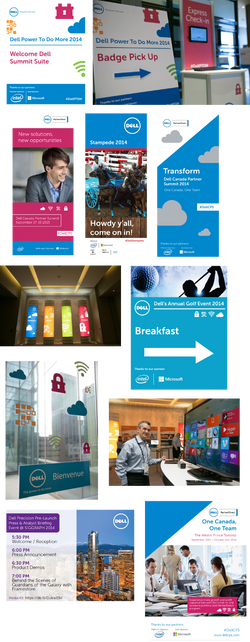 Dell Canada Event Graphics