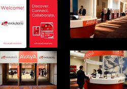 Avaya Events Graphics