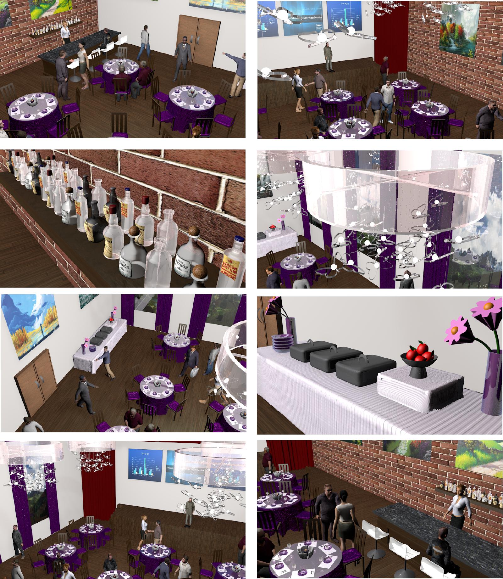 3D Event Rendering