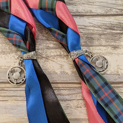 Flower Of Scotland Tartan Handfasting Cord