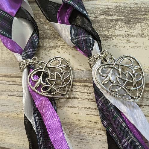 Pride of Bannockburn Tartan Handfasting Ribbon