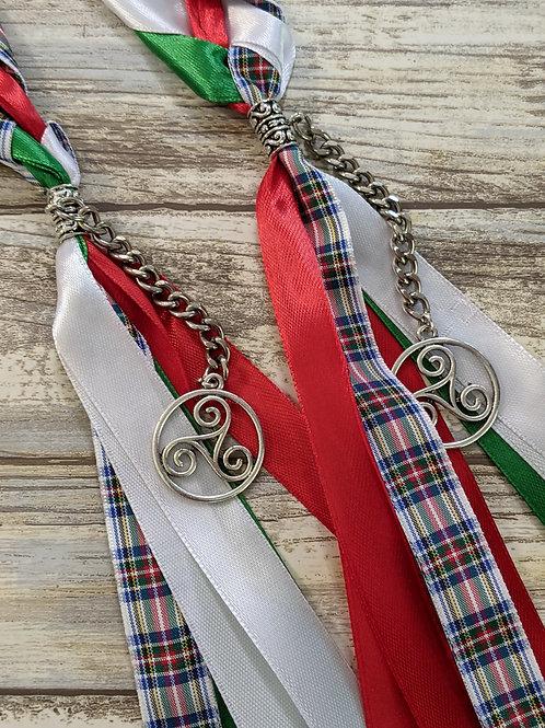 Dress Stewart Tartan Handfasting Ribbon