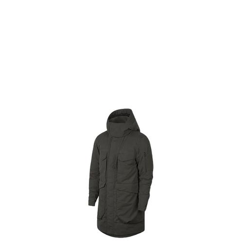Nike Sportswear Tech Pack Mens Large Jacket Down Fill Parka Green