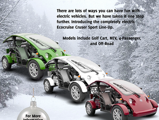 Ecocruise Debuts 2018 Holiday Ad In Golf Car Options Magazine