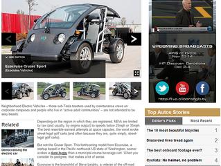 BBC Autos Feature: Ecocruise Cruser Sport