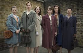 Code-breakers in the TV series Bletchley Circle