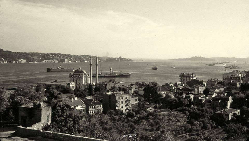 Bosphorus strait in the 1940s