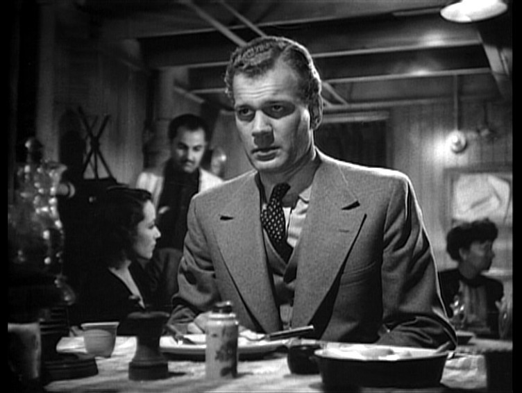 Joseph Cotten as Howard Graham in Eric Ambler's Journey Into Fear