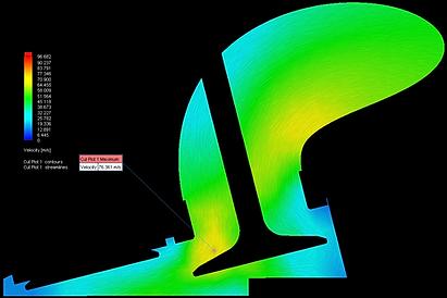 Rev Velocity Flow Contour.Streamline BLA