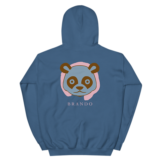 Brando Panda Spirit Hoodie (Indigo Blue)