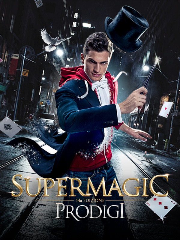 Basilio Tabacchi nel cast di Supermagic 2017