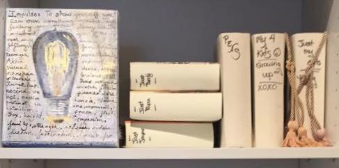 Bookcase Art
