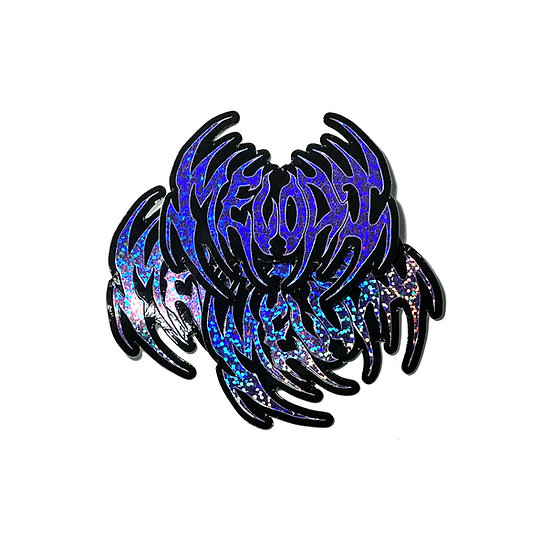 Glitter Widow Stickers
