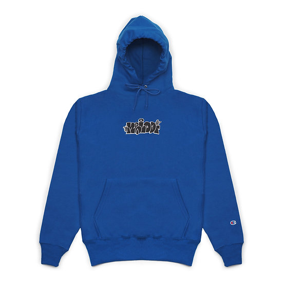 Throw Hoodie - Blue