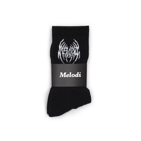 Widow Socks - Black