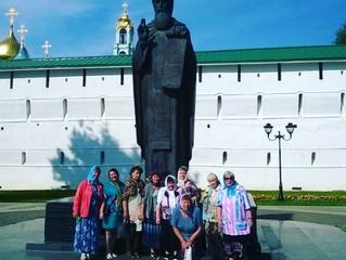 В Свято-Троицкой Сергиевой Лавре