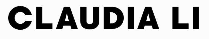 Claudia Li fashion brand