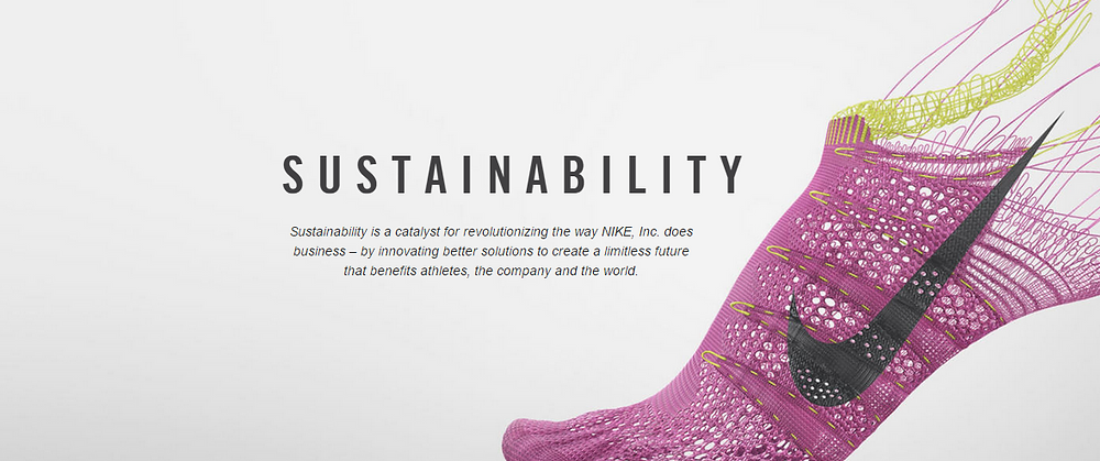 Nike Sustainability Initiative