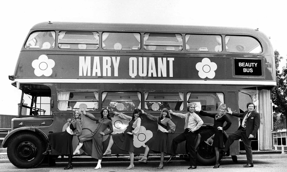 Mary Quant's original 'Beauty Bus'