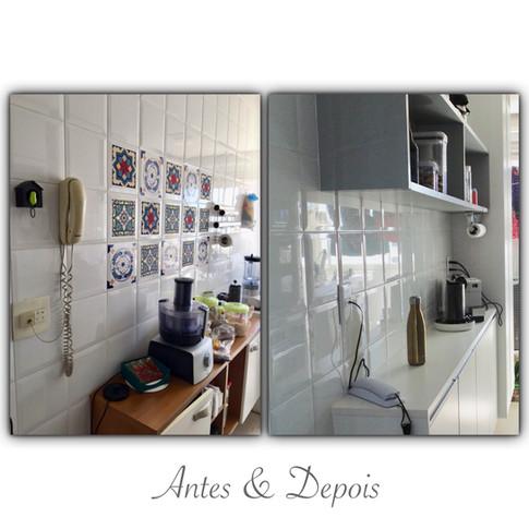 Antes & Depois - cozinha
