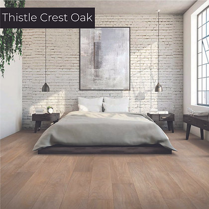 Thistle Crest Oak Luxury Vinyl Flooring, Sample