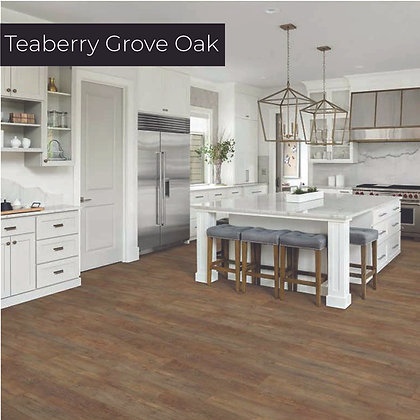 Teaberry Grove Oak Luxury Vinyl Flooring, Sample