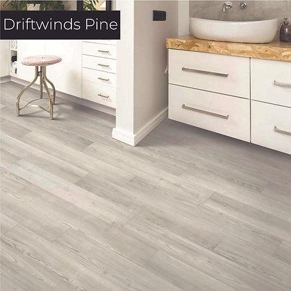 Driftwinds Pine Luxury Vinyl Flooring, Sample