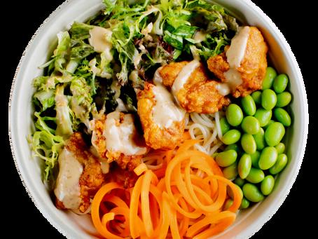 Crispy Chicken Noodle Bowl