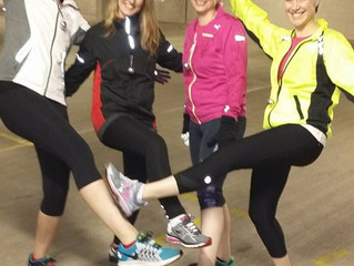 TB Runners Jingle all the way!