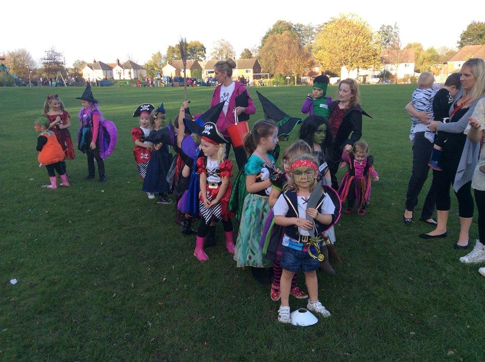 Halloween Fundraiser 2014