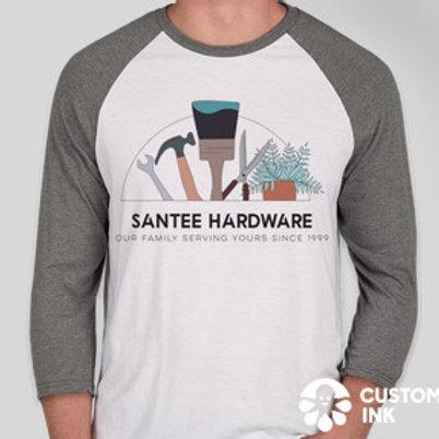 Santee Hardware Baseball T