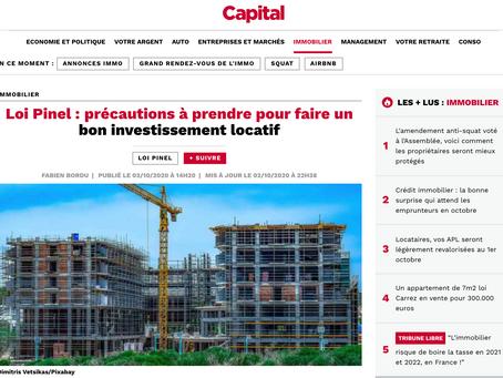 Loi Pinel : précautions à prendre pour faire un bon investissement locatif - Article Capital