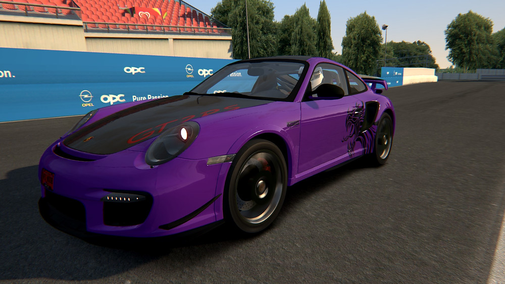 Assetto corsa showroom 997 GT2RS