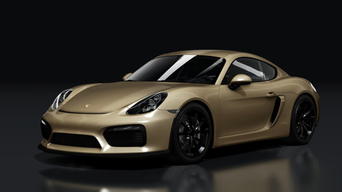 Porsche 981 Cayman GT4 (Alternative)