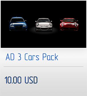 "Buy ""AD 3 Cars Pack"""