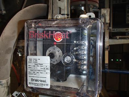 Silikonové topné rohože BriskHeat®