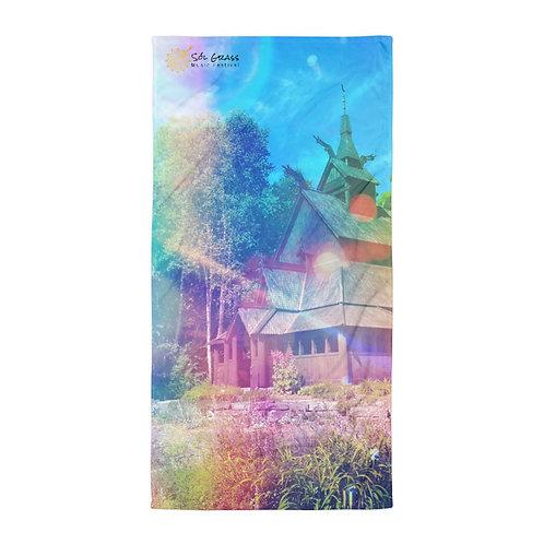Stavkirke Towel