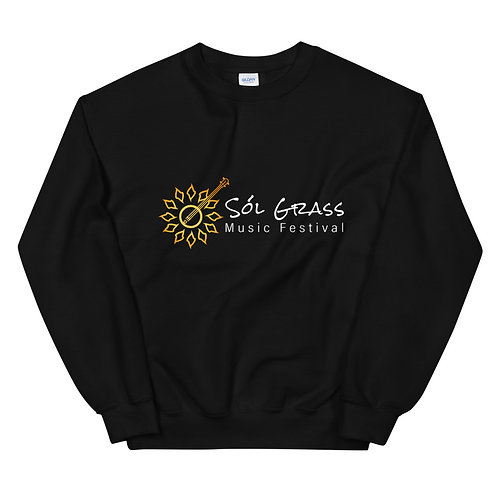 Classic Sol Grass Sweatshirt in Black
