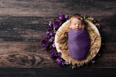 flower newborn