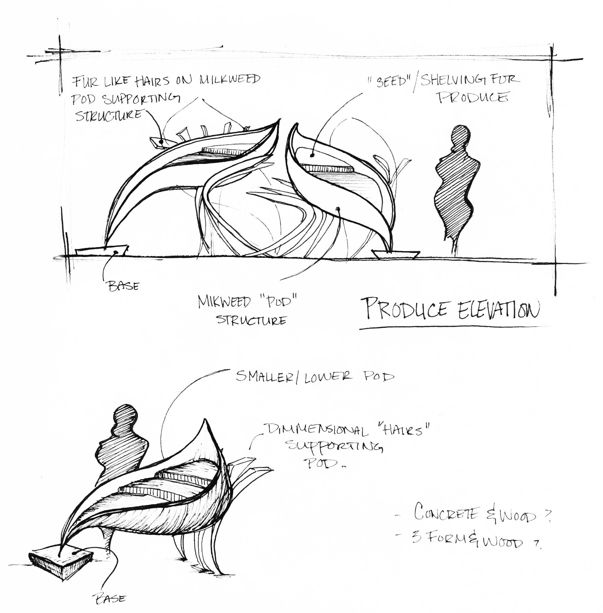 Conceptual design sketch