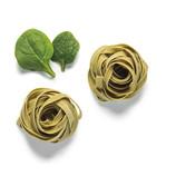 Tallarines de espinacas