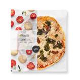 Pizza vegana de tofu y algas