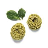 Espaguetis de espinacas